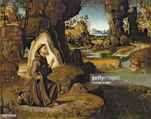Saint Francis receiving the Stigmata Found in the collection of ThyssenBornemisza Collections