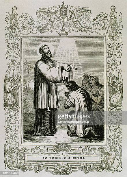 Saint Francis Xavier, born Francisco de Jasso y Azpilicueta (1506-1552 , Pioneering Roman Catholic missionary born in the Kingdom of Navarre and...