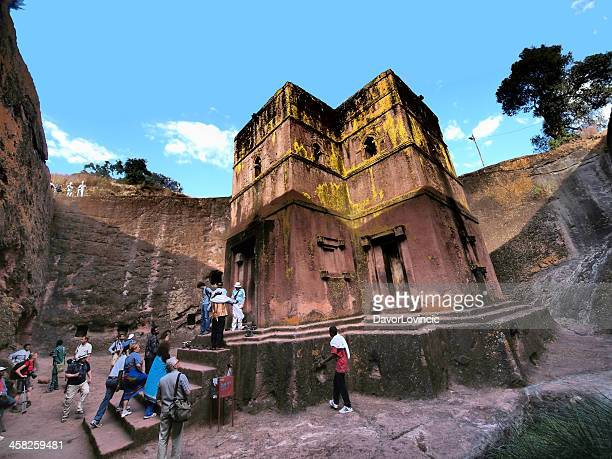 saint george church - ethiopian orthodox church stock pictures, royalty-free photos & images