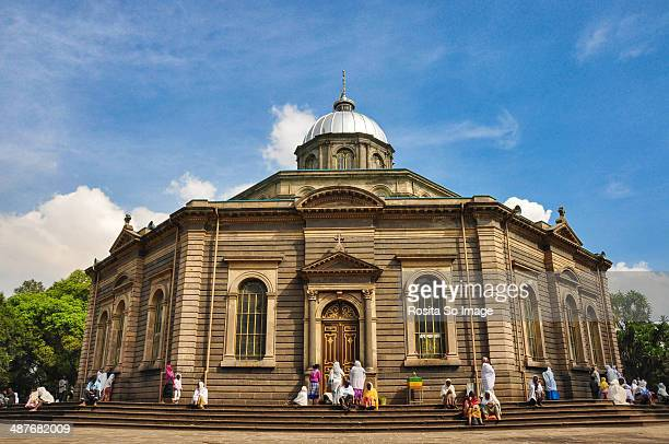 saint george church - addis ababa stock pictures, royalty-free photos & images