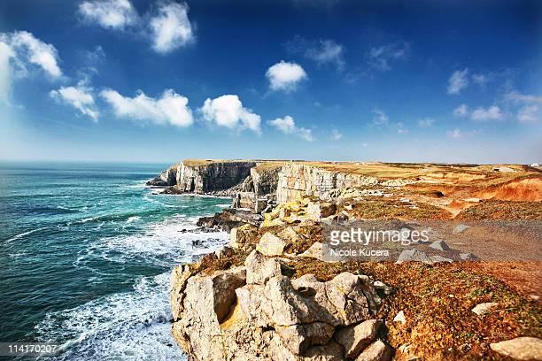 Saint Govans Head Cliff at  Seaside