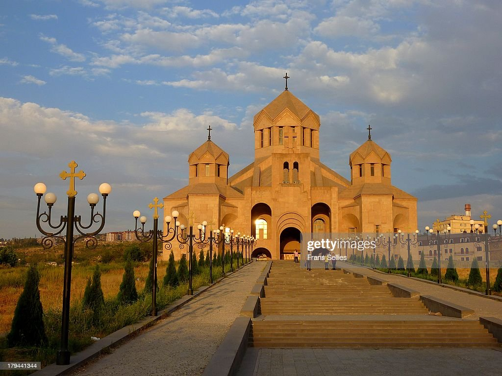 St Gregory the Illuminator Cathedral, Yerevan : Nieuwsfoto's