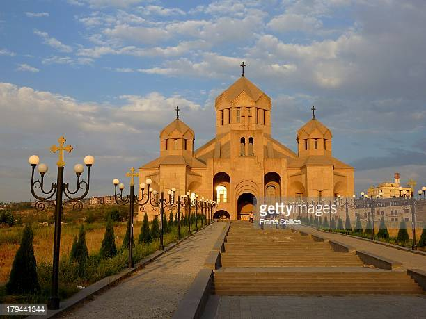 CONTENT] Saint Gregory the Ilumminator Cathedral in Yerevan is the largest Armenian church in the world The consecration of the Cathedral the symbol...