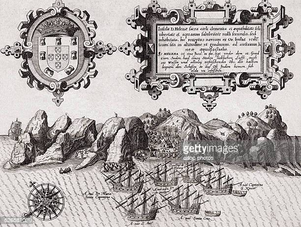 Saint Helena island then a Portuguese territory is used as stopover for the ships In the 17th century
