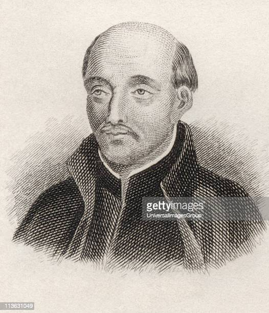 Saint Ignatius of Loyola 1491 to 1556 Spanish theologian Founder of Society of Jesus or Jesuits From the book Crabbes Historical Dictionary published...