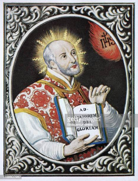 Saint Ignatius of Loyola Ignacio de Loyola 23 October 1491 Ð 31 July 1556 was a Spanish Basque priest and theologian who founded the religious order...