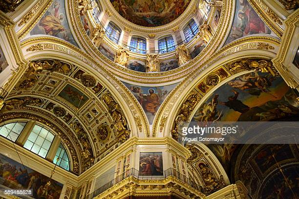 saint isaac´s cathedral of st. petersburg - cathedral stock pictures, royalty-free photos & images