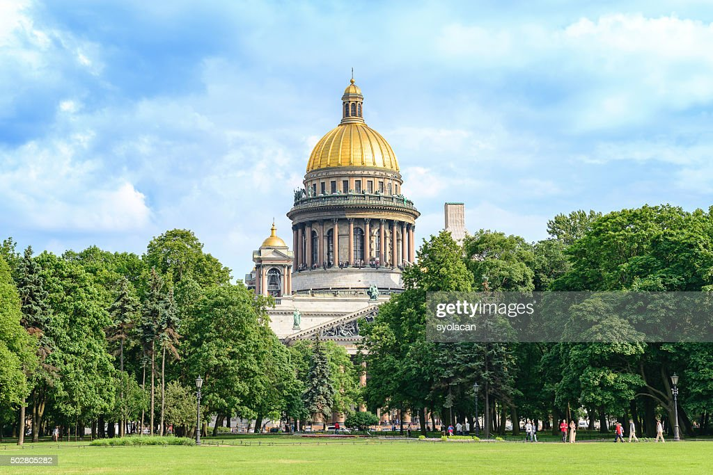 Saint Isaac's Cathedral, Saint Petersburg, Russia : Stock Photo