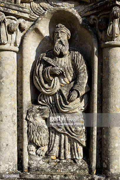 Saint Jean au Bois, forest of Compiegne,the cemetery of church, picardy,oise,france