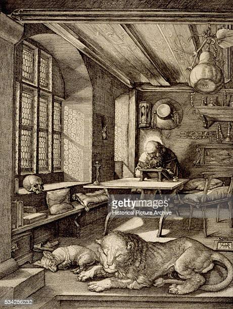 Saint Jerome in His Study by Albrecht Durer