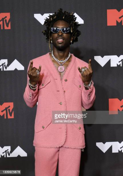 SAINt JHN attends the 2021 MTV Video Music Awards at Barclays Center on September 12, 2021 in the Brooklyn borough of New York City.