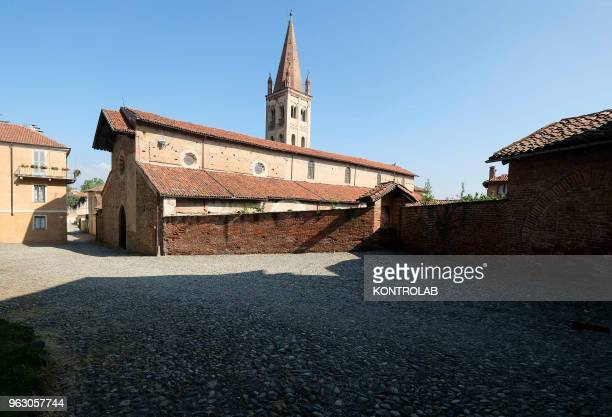 PIEMONTE SALUZZO CUNEO ITALY Saint John church in the center of Saluzzo one of ten most beautiful little villages in Italy Saluzzo is a village of...