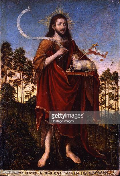 Saint John the Baptist 15501552 Artist Cranach Lucas the Elder