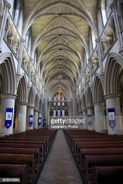 Saint John the Baptist catholic Cathedral church Norwich Norfolk England UK