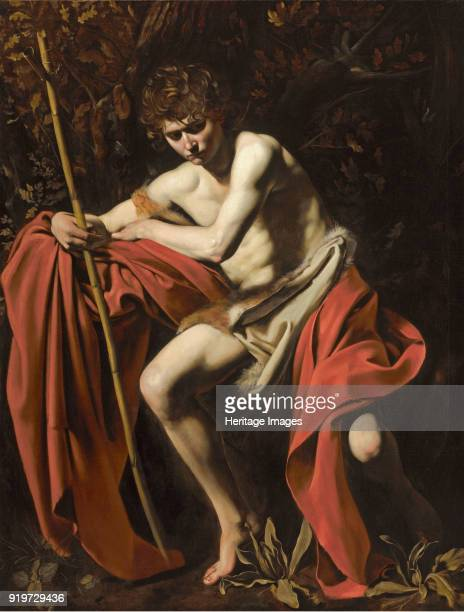 Saint John the Baptist in the Wilderness 1602 Found in the Collection of NelsonAtkins Museum of Art Kansas City Missouri