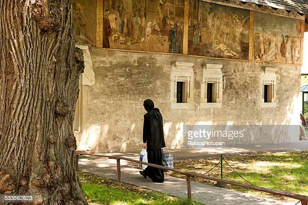 saint john the new monastery - moldavia fotografías e imágenes de stock