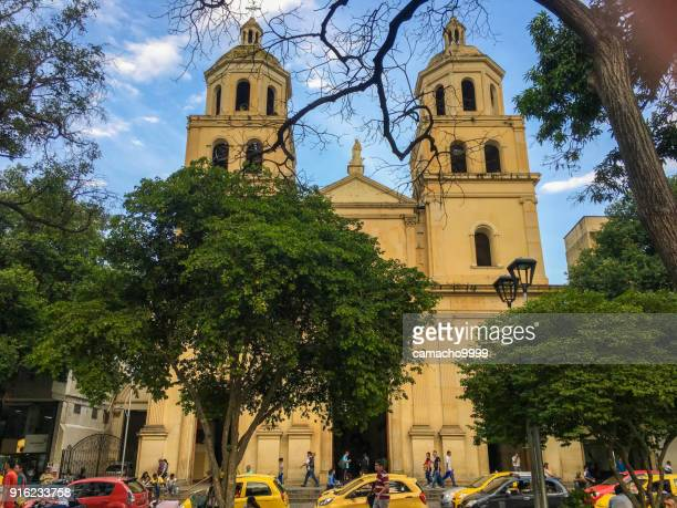saint joseph cathedral in cucuta - cucuta stock pictures, royalty-free photos & images