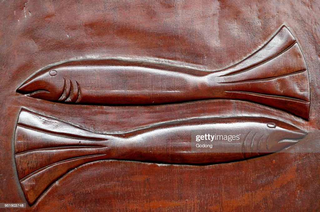 Two Fish On A Door Pictures Getty Images