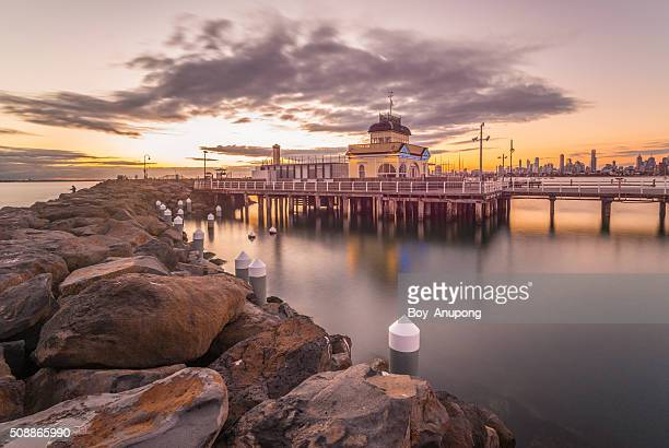 Saint Kilda pier, Melbourne, Victoria, Australia.