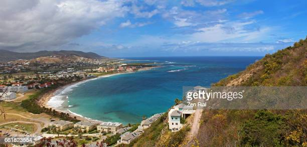 saint kitts and nevis, west indies in the eastern caribbean - st. kitts stock photos and pictures