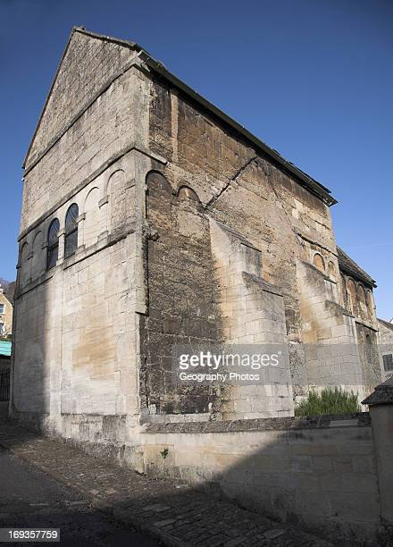 Saint Laurence anglo saxon church Bradford on Avon Wiltshire England