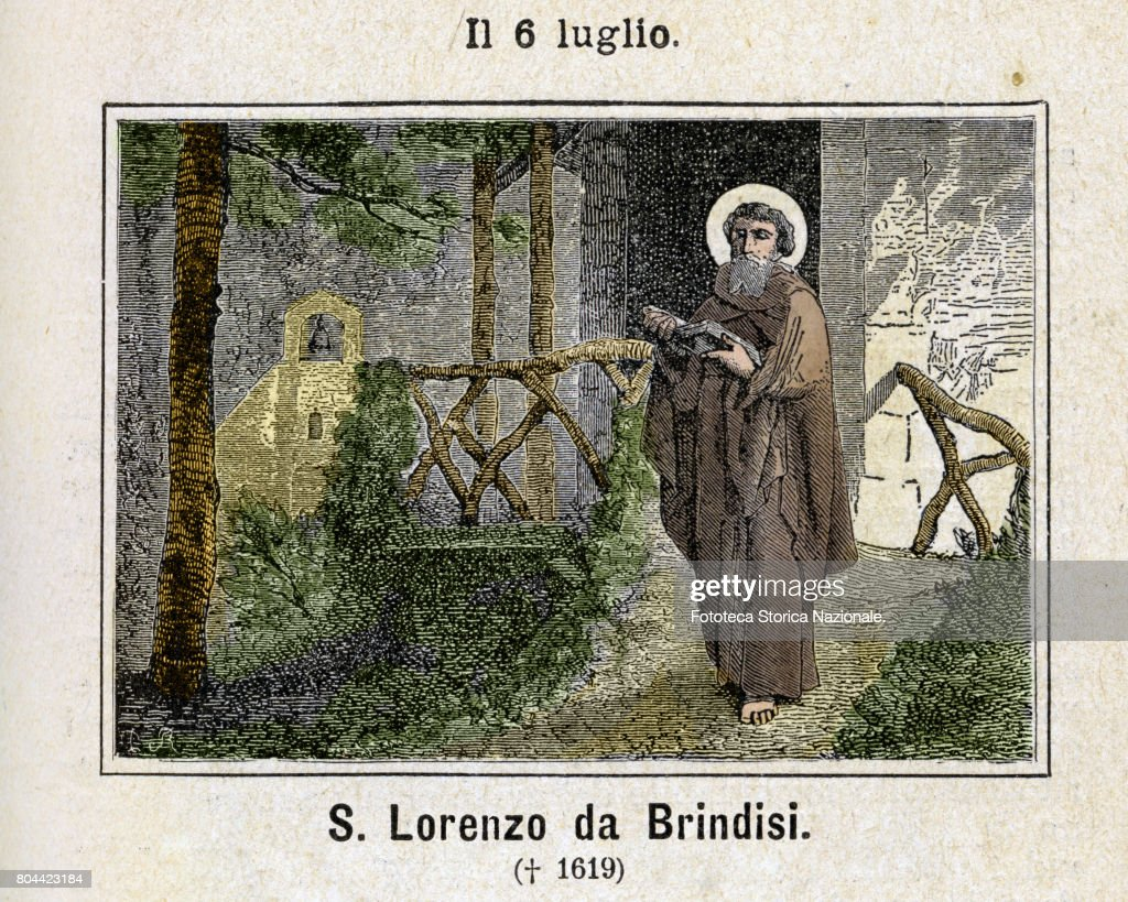 Saint Lawrence of Brindisi, O F M  Cap , , born Giulio