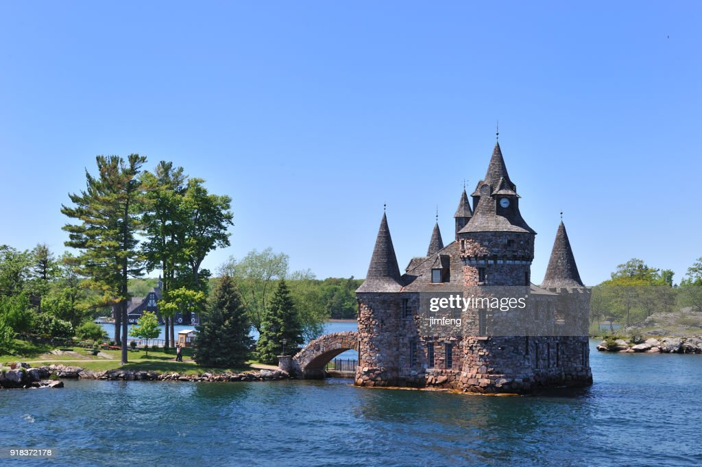 Saint Lawrence river and the Thousand Islands : Stock Photo