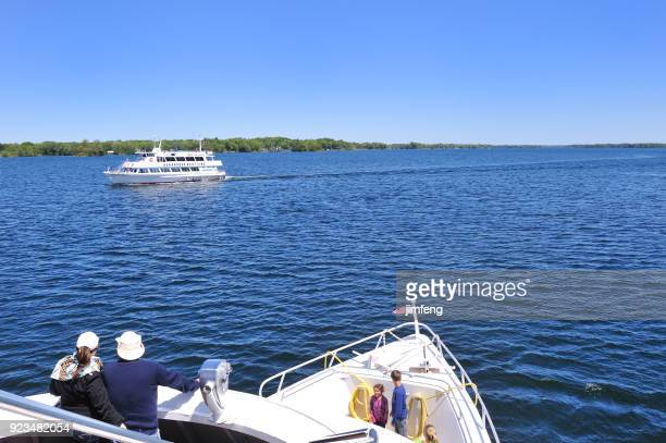 saint lawrence river and the thousand islands - river st lawrence stock pictures, royalty-free photos & images
