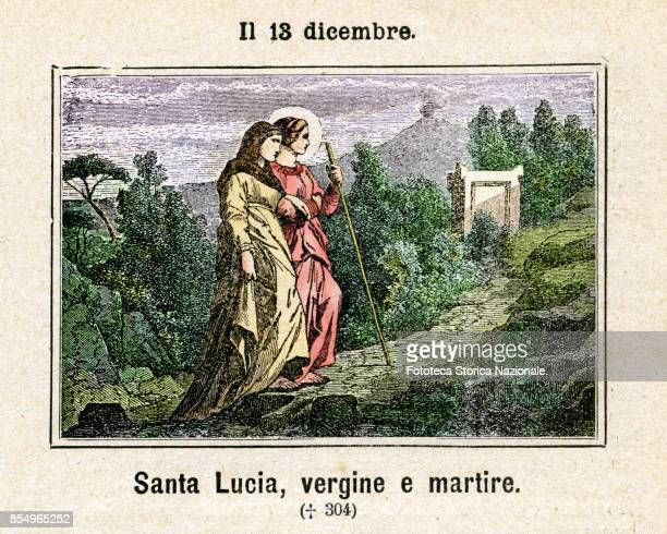 Saint Lucia of Syracuse also known as Saint Lucy was a young Christian martyr who died during the Diocletianic Persecution She is venerated as a...