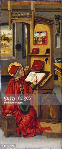 Saint Luke the Evangelist 1478 Found in the collection of the ThyssenBornemisza Collections