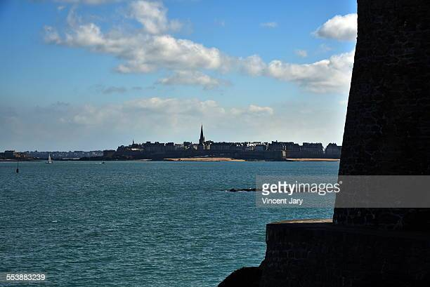 saint malo - dinard stock pictures, royalty-free photos & images