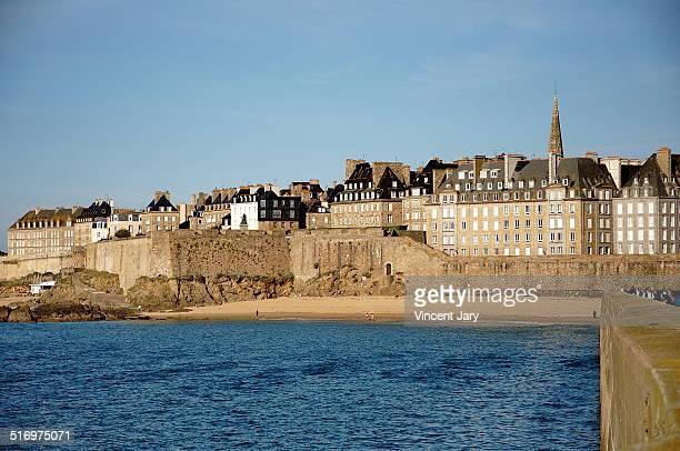 Saint Malo wall