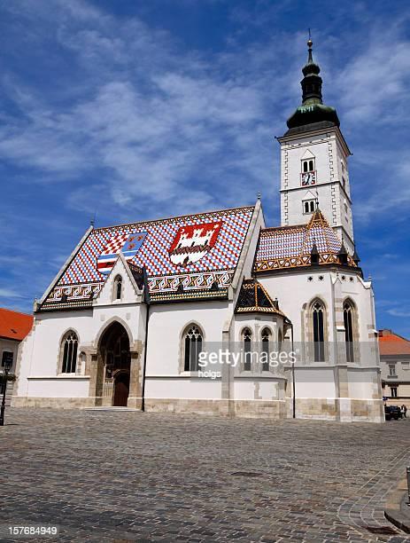 St. Marks Church in Zagreb, Kroatien