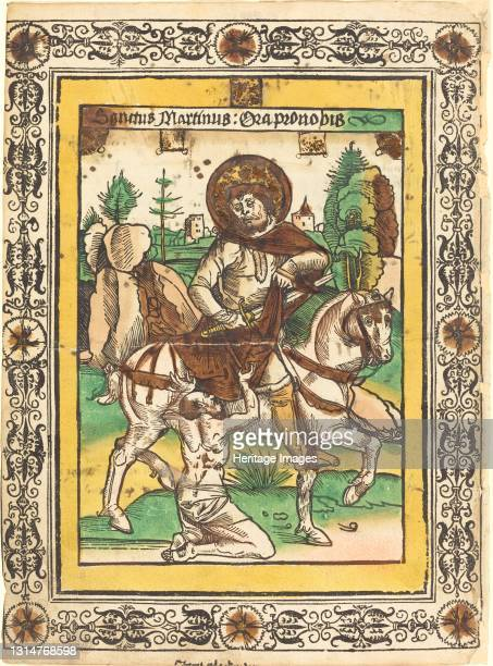 Saint Martin and the Beggar, c. 1490. Artist Unknown.