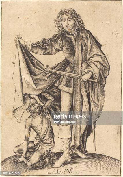 Saint Martin, circa 1480/1490. Artist Israhel van Meckenem.