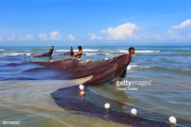 Saint Martin's Island located at the southern border and facing the Bay of Bengal of Bangladesh More than five thousand fishermen live in this island...
