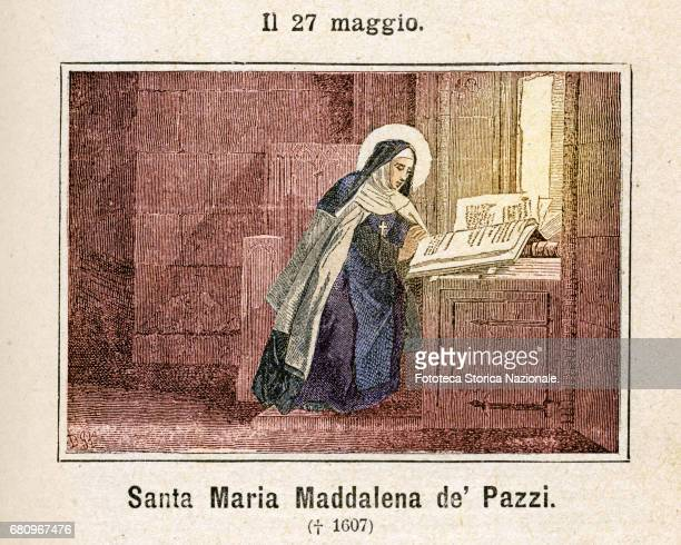 Saint Mary Magdalene de Pazzi, born Caterina nun and mystic, of the Carmelite Order, was proclaimed a saint by Pope Clement IX on 22 April 1669....