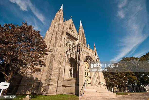 saint mary's church - stamford connecticut stock pictures, royalty-free photos & images