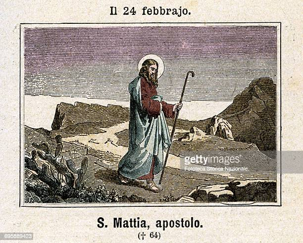 Saint Matthias Apostle From the Acts of the Apostles it indicates that Peter on Ascension Day asked to the Assembly of disciples to choose who...