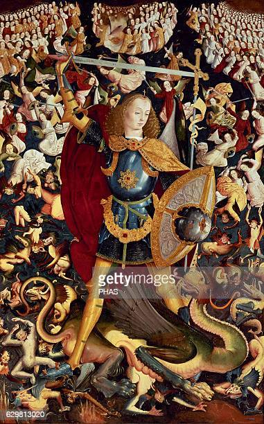 Saint Michael Archangel By Master of Zafra 14951500 Spain