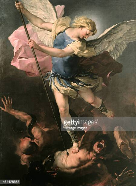 Saint Michael the Archangel ca 1663 Found in the collection of the Staatliche Museen Berlin