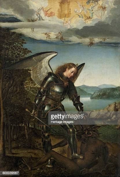 Saint Michael the Archangel Early16th century Found in the collection of Art History Museum Vienne Artist Anonymous