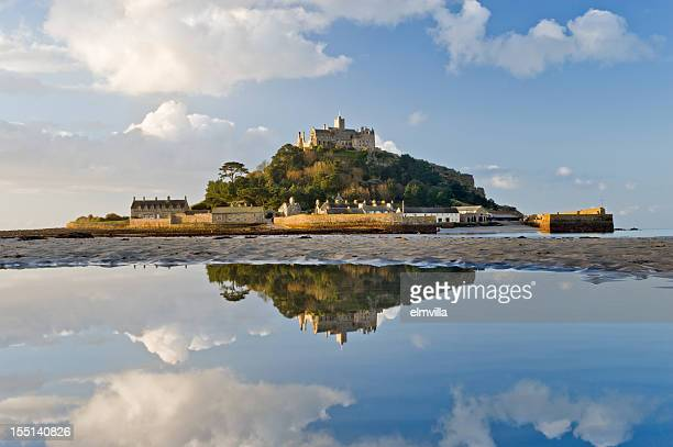 Saint Michaels Mount Cornwall at sunrise