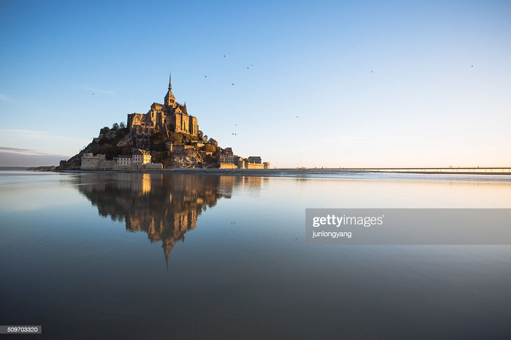 Saint Mont Michel : ストックフォト