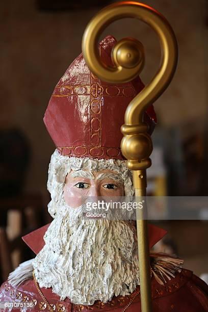Saint Nicholas also called Nikolaos of Myra was a historic 4thcentury Christian saint and Greek Bishop of Myra SaintNicolas de Veroce France