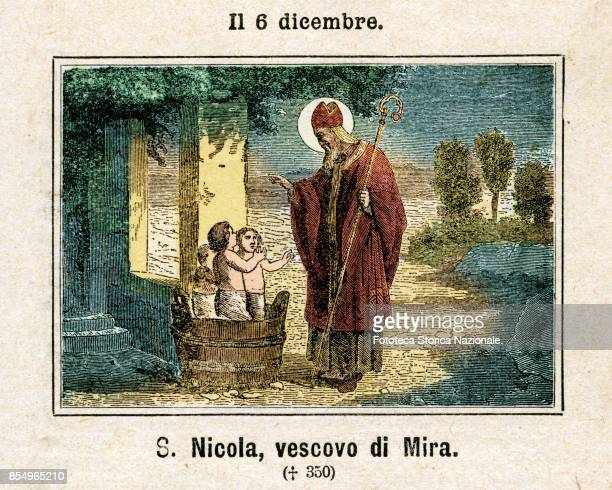 Saint Nicholas also called Nikolaos of Myra was a historic 4thcentury Christian saint and Greek Bishop of Myra in Asia Minor Because of the many...