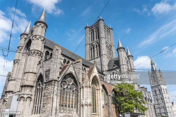 Saint Nicholas' Church and belfry of Ghent