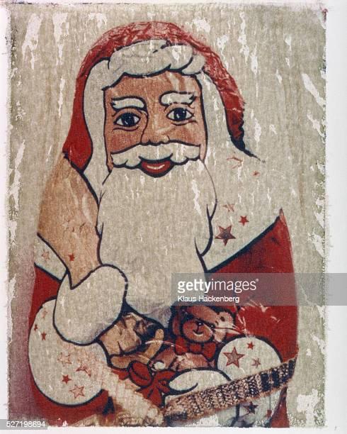 Saint Nicholas made of chocolate