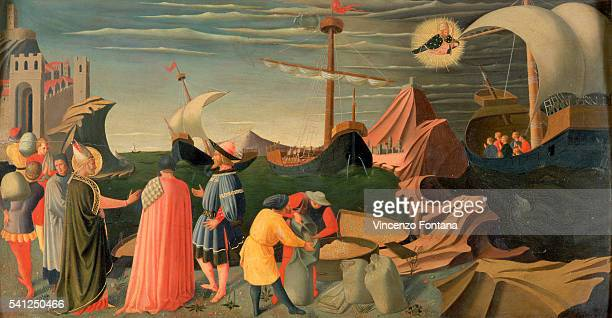 Saint Nicolas of Myra by Fra Angelico