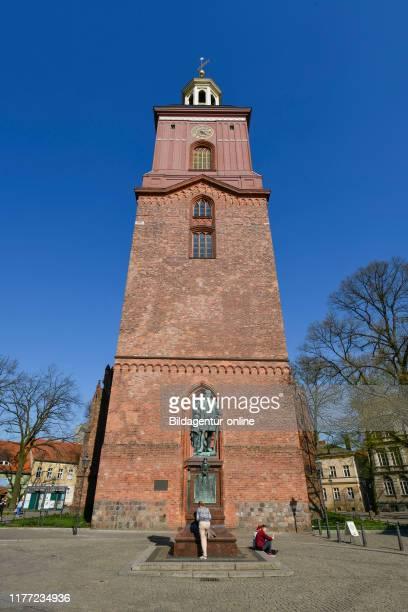 Saint Nikolai-Kirche, Reformation place, Old Town, Spandau, Berlin, Germany, St. Nikolai-Kirche, Reformationsplatz, Altstadt, Germany.